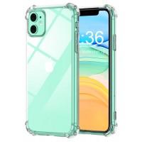 Babacom Funda para iPhone 11 (6.1 Pulgada), Alta Claro Delgado Carcasa para iPhone 11 Reforzado Cojín de Esquina Parachoques, Flexible TPU Suave Anti-Rasguños Case para iPhone 11, Versión 2019