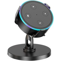 Cocoda Table Holder for Echo Dot 2nd Generation, 360° Adjustable Desktop Stand Mount Bracket Cradle for Home Voice Assistant, Clever Dot Accessories Improve Communication with Your Dot