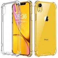 Babacom Coque pour iPhone XR, Coque de Protection Antichoc [Transparente comme Cristal] Coussin d'Air aux Coins Extrêmement Fin avec Panneau Arrière de PC Dur Cadre en TPU pour iPhone XR